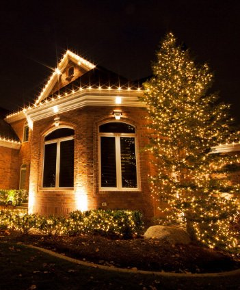 CHRISTMAS LIGHTS INSTALLATION Service